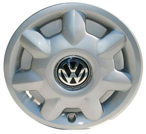 Volkswagen - 1H0601147FED Golf 14 Inch New Factory Original Equipment Hubcap