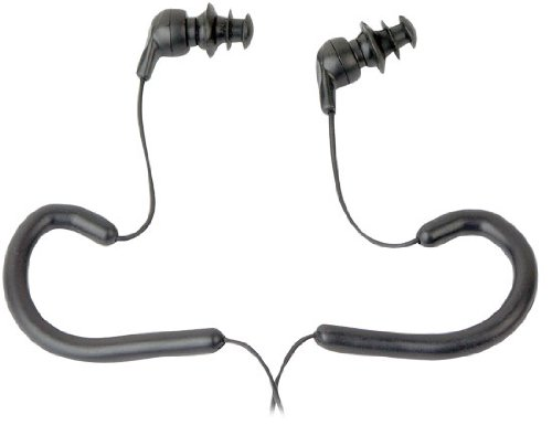 Pyle PWPE10B Marine Sport Waterproof In-Ear Earbud Stereo Headphones for iPod/iPhone/MP3 Player (Black)