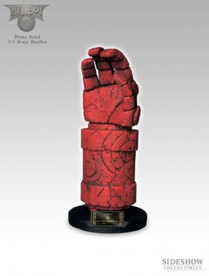 Picture of Sideshow HELLBOY RIGHT HAND OF DOOM 1:1 SIDESHOW Figure (B001GY9GKY) (Sideshow Action Figures)