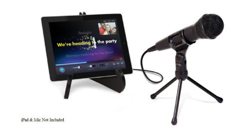 Ipad And Microphone Stands