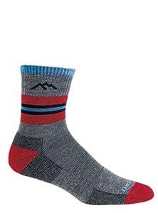 Click here to buy Darn Tough Benjamin Rugby Cushion Boot Sock - Junior's Lava Medium by Darn Tough.