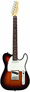 Fender American Standard Telecaster Electric Guitar, Rosewood Fingerboard, 3-Tone Sunburst