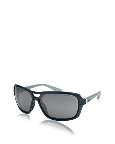 Nike Grey with Silver Flash Lens Racer Sunglasses, Dark Sea/Sea Spray
