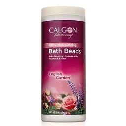 Calgon Ultra-Moisturizing Bath Beads, English Garden - 26 oz