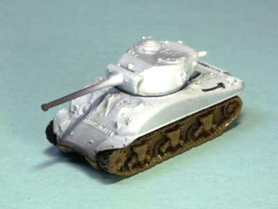 アメリカ軍 M4 シャーマン 中戦車 A1 型 冬季迷彩(ホワイト上塗り)