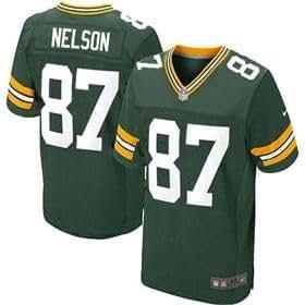 Green Bay Packers Jordy Nelson Green On Field Jersey Size 44 (Large)