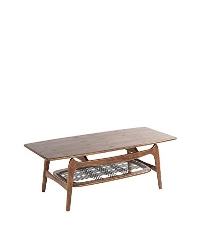 Control Brand The Mid Century Ase Coffee Table, Walnut
