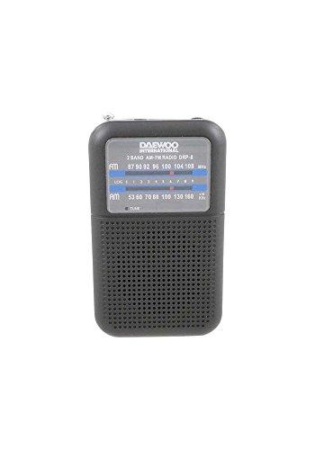 Radio CD Blanco Sistema est/éreo port/átil Daewoo DBU-59BL Anal/ógica 2.4W Azul Anal/ógica, Am,FM, Jugador, CD, Reproducir//Pausar, 2,4 W