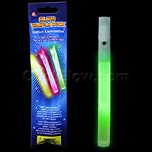 Glow Whistles 6 inch - Green