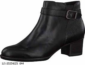 Tamaris 25354, Bottes Classiques Femme - Noir (schwarz (black/snake044)), 36 EU