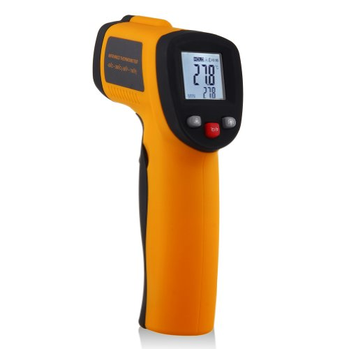 Digital Non-contact Infrared Temperature, Gun Infrared Thermometer with Laser Point