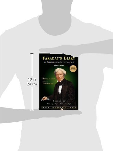 Faraday's Diary of Experimental Investigation - 2nd edition, Vol. 2