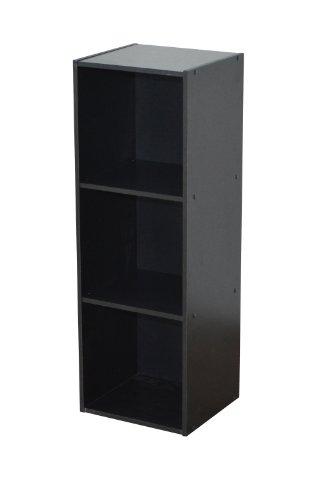 Alsapan-478161-Compo-13-Regal-mit-3-Fchern-31-x-295-x-925-cm-Schwarz
