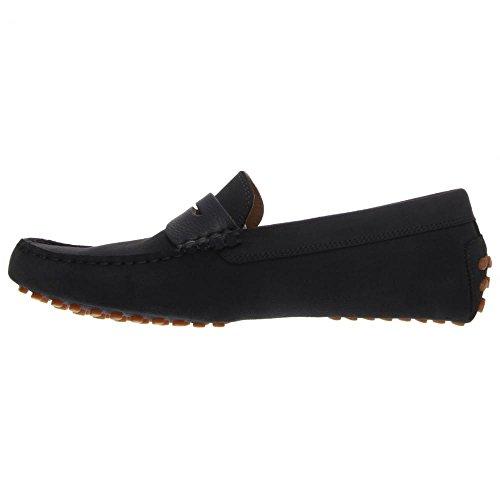 Lacoste Men's Concours 18 Srm Slip-On Loafer, Navy, 10.5 M US