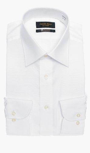 (ヨウフクノアオヤマ)洋服の青山 (サビルロウ)Savile Row オールシーズン用 【長袖】【NON IRONMAX】【ワイドカラー】スタンダードワイシャツ 39cm82cm MAX500