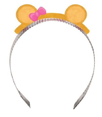 Teddy Bear 1st Birthday Girl Headbands (8 ct) - 1