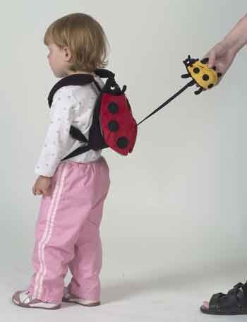 Imagen de Sherpa bebé arnés de seguridad para niños Safe2Go Backpack - Panda w / Bamboo