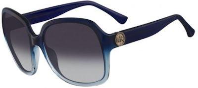 Michael Kors Mk 2841S 463 Ellie Navy Smoke Gradient Sunglasses