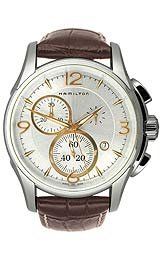 Hamilton Men's H32612555 Jazzmaster Chronograph Silver Dial Watch by Hamilton