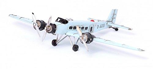 Model Plane JU 52 1930 - Retro Tin Model