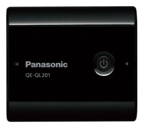 Panasonic USBモバイル電源パック リチウムイオン 5,400mAh 黒 QE-QL201-K