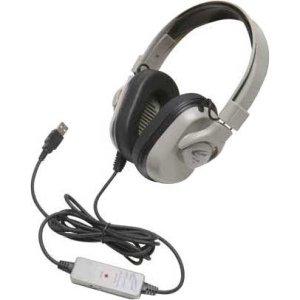 Ergoguys Hpk-1000 Califone Washable Headphone Guaranteed Life Cord Via Ergoguys