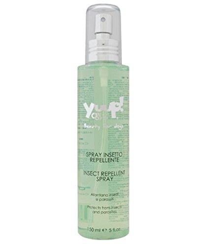 Yuup Spray Insetto Repellente - Ideale per il periodo estivo, allontana naturalmente insetti e parassiti, per cani e gatti