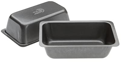 Range Kleen Mini Loaf Pan Set, 2 Count, 5 1/2 x 3 1/8 x 1 7/8 Inch