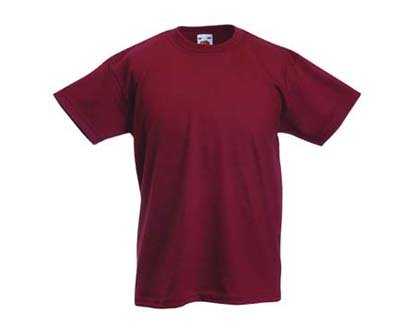 Kinder T-Shirt Valueweight; Rot,164 164,Rot