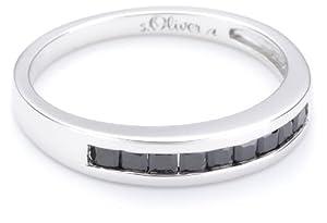 s.Oliver Damen-Ring 925 Sterlingsilber Gr. 58 355254