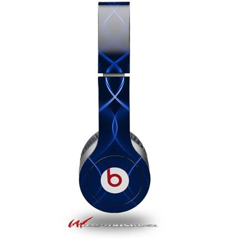 Abstract 01 Blue Decal Style Skin (Fits Genuine Beats Solo Hd Headphones - Headphones Not Included)