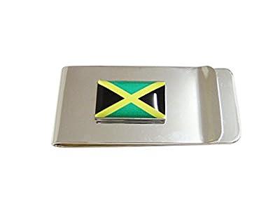 Jamaica Flag Pendant Money Clip