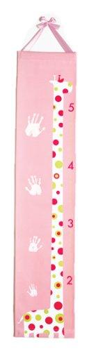 Baby Handprint Growth Chart - Pink