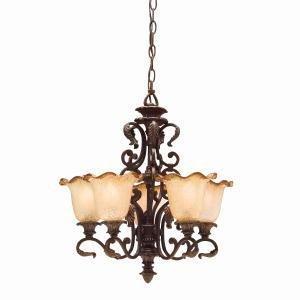 Beautiful Kichler Lighting CZ Light Rochelle Chandelier Carre Bronze