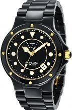LTD Watch - LTD 031602 - Montre Mixte - Quartz Analogique - Bracelet Céramique Noir