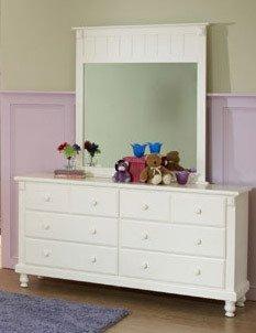 Homelegance Pottery White Dresser # 875W-5