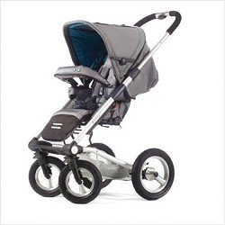 Mutsy 4Rider Stroller, Cargo Grey (Discontinued by Manufacturer)