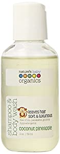 FREE SAMPLE - Nature's Baby Organics  Shampoo and Bodywash, Coconut Pineapple (Discount at check-out with qualifying item)