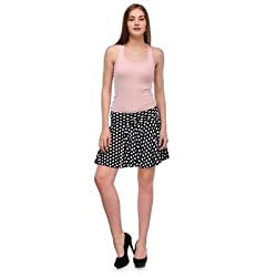 FASHION By The BrandStand Women Skirt Blk-M