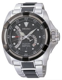 Seiko Velatura Kinetic Direct Drive Gents Bracelet Watch SRH005P1