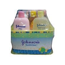 Johnson's Baby Essentials Bathtime Gift Set