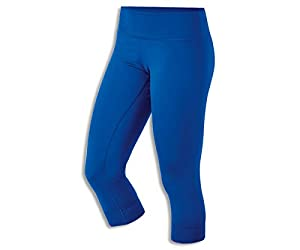 Womens ASICS Team 3/4 Capri Tight, Royal, L