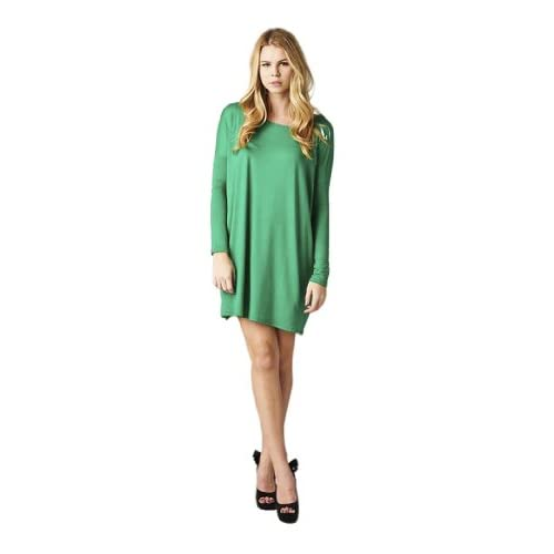 Oversized Women's Tunic Top Shirt or Dress Green Size: Small - Medium