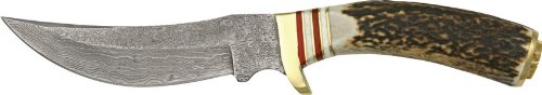 Szco Supplies Damascus Mountain Hunter Knife
