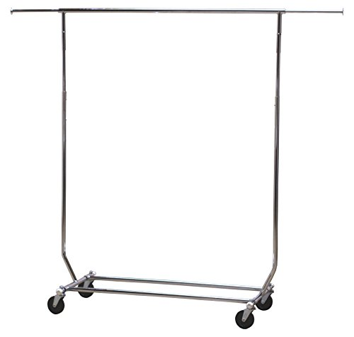 Collapsible Clothing Rack-Commercial Grade (Foldable Garment Rack compare prices)