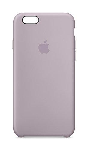 Apple MLCV2ZM/A Silikon Schutzhülle für Apple iPhone 6/6S lavendel