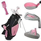 Golf Girl Junior Set W/bag Ages 4-7 Rh