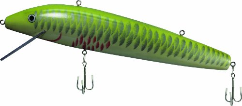 Save Price River's Edge Giant Lure Minnow Firetiger