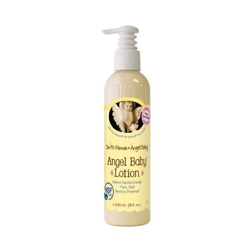 Earth Mama Angel Baby Lotion Vanilla Orange - 8 Fl Oz front-44085