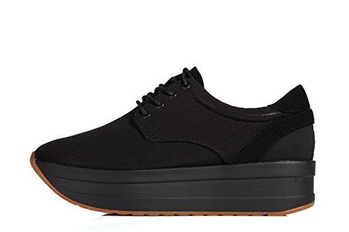 Vagabond Casey Platform textile sneaker black - Scarpe sportive suola alta nere